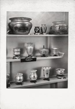 Otto Prutscher, Joh. Loetz Witwe, Serie II und III, Ausstellung der Genossenschaft der bildenden Künstler Wiens, Oktober 1929 © Archivio Famiglia Otto Prutscher, Mailand