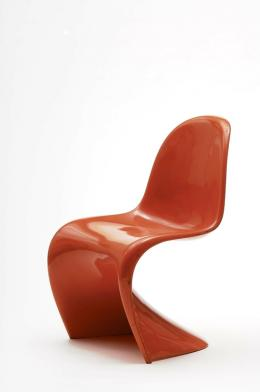 Verner Panton, Panton Chair, Kopenhagen, 1967 Polyurethan, orange lackiert © MAK/Georg Mayer