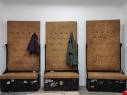 Bar du Bois, Sitzgelegenheit, 2019, Foto: Bar du Bois