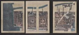 Raimund Abraham, Nine Projects for Venice. City of Twofold Vision, 1980 Buntstift auf Papier Privatsammlung © MAK/Georg Mayer