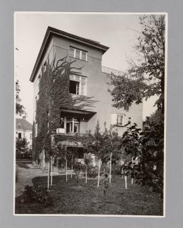 Adolf Loos, Haus Rufer, Wien XIII., Blick von der Wohnhalle ins Speisezimmer, 1922 Foto: © Martin Gerlach jun., 1930 © Albertina, Wien