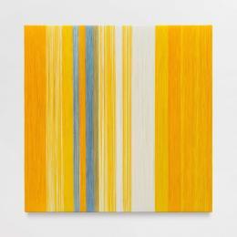 """Sheila Hicks, """"Incomprehensible Yellow Space"""", 2020, Courtesy die Künstlerin und Galerie Frank Elbaz. Foto: Claire Dorn © VG Bild-Kunst"""