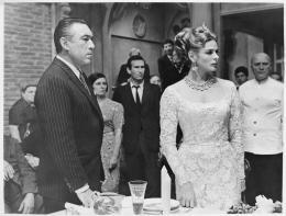 René Hubert, Filmkostüme für Anthony Quinn und Ingrid Bergman in The Visit, IT/DE 1964, Collection Cinémathèque Suisse © Anonym
