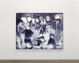 Alex Hanimann: 1979 [first step toward achieving superconsciousness] 2016. Leuchtkasten, Aluminium eloxiert, LED,180 x 235 x 10 cm; Galerie Skopia Genève, Hengesbach Gallery Wuppertal, Pro Litteris Zurich
