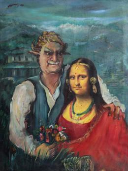 Mona Lisa and Manuj Babu Manuj Babu Mishra 2006 © Prithivi Bahadur Pande, Foto: Kailash K Shrestha