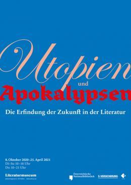 Plakat zur Ausstellung – © Österreichische Nationalbibliothek
