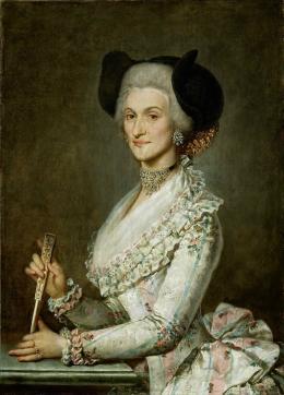 Porträt einer vornehmen Salzburger Bürgerin, 1795, Öl auf Leinwand © Salzburg Museum