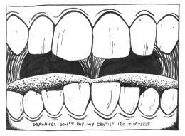 Yoan Mudry, Drawings don't pay, 2021 © Yoan Mudry