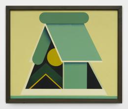 Léon Wuidar, Auvent 1969. © 2020, ProLitteris, Zurich; the artist and White Cube