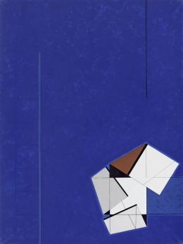 René Acht, o.T., 1995–97, Acryl auf Leinwand, 160 x 120 cm, Kunstmuseum Singen, Foto: Bernhard Strauss, Freiburg, © Nachlass René Acht, VG Bild -Kunst, Bonn 2021