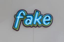 Pietro Sanguineti, fake, 2015, Städtische Galerie im Lenbachhaus und Kunstbau München, Foto: Lenbachhaus © Pietro Sanguineti