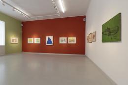 Ausstellungsansicht © Galerie Gugging