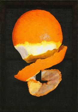 Maja Vukoje, Orange, 2017,  Foto: Roland Krauss, © Bildrecht, Wien
