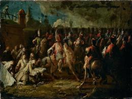 Die Kapitulation von München, 1742, Öl auf Leinwand, Salzburg Museum (Sammlung Rossacher)  © Salzburg Museum