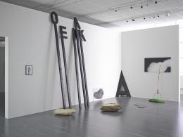 Josef Bauer, Ausstellung Griechenbeisl Photo: Johannes Stoll, © Belvedere, Vienna