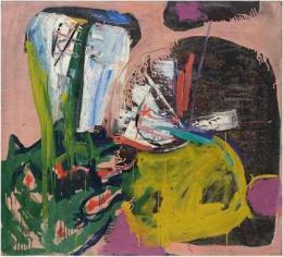 Helmut Sturm, Ohne Titel, um 1975, Öl auf Leinwand, 100 x 110 cm, Archiv Helmut Sturm, © VG Bild-Kunst, Bonn 2021, Foto: Andreas Sturm, München