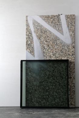 Atelieransicht, 2019, © Andreas Fogarasi & Bildrecht GmbH, 2019, Courtesy der Künstler, Foto: Kunsthalle Wien