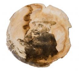 Medaillon, Foto von Rodolfo Brunner,Foto: Dietmar Walser, © Jüdisches Museum Hohenems (Nachlass Carlo Alberto Brunner)