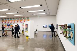 Ausstellungsansicht: ... von Brot, Wein, Autos, Sicherheit und Frieden, Kunsthalle Wien 2020, Foto: Jorit Aust