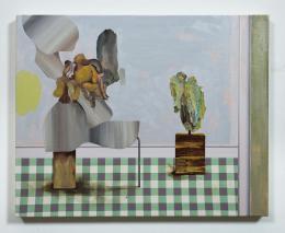 Asgar/Gabriel, ohne Titel, 2019, Öl auf Leinwand, 40 x 50cm, Courtesy Bechter Kastowsky Galerie und die Künstler