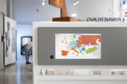 """Web-Ausstellung """"Europa der Diktaturen"""" in der Hauptausstellung des hdgoe © Lorenz Paulus, hdgoe"""