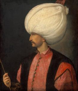 Sultan Süleyman I. (1495–1566) Venezianisch, 1530‒1540 Öl auf Leinwand Kunsthistorisches Museum Wien, Gemäldegalerie, Inv.-Nr. 2429 © KHM-Museumsverband
