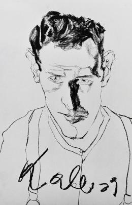 Edmund Kalb, Selbstbildnis, 1929 © Privatbesitz Foto: Archiv Sagmeister, © Rudolf Sagmeister/Kunsthaus Bregenz
