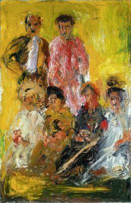 Gruppenbild mit Schönberg, 1908 © Kunsthaus Zug, Stiftung Sammlung Kamm Foto: Kunsthaus Zug, Stiftung Sammlung Kamm