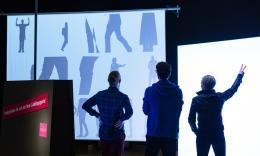 Shadow Gestures / Fotocredit: Museum für Kommunikation Berlin, Foto: Kay Herschelmann