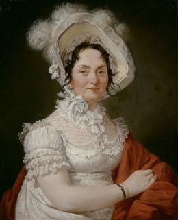 Porträt der Therese Edel, geborene Maier aus Bamberg, 1821, Öl auf Leinwand © Salzburg Museum