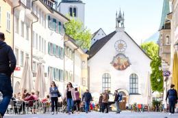 Marktgasse Feldkirch – © Foto: Matthias Rhomberg / Stadtkultur und Kommunikation Feldkirch GmbH
