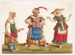 Burnacini, Das Trio des Freudenhauses, Wien, 17. Jhdt, Theatermuseum © KHM-Museumsverband
