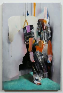 Asgar/Gabriel, ohne Titel, 2019, Öl auf Leinwand, 60x40cm, Courtesy Bechter Kastowsky Galerie und die Künstler