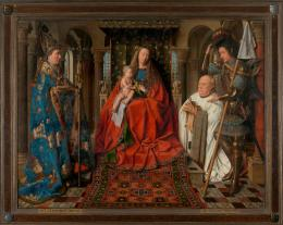 Virgin and Child with Canon van der Paele by Jan van Eyck, Credit: Musea Brugge © Lukas – Art in Flanders vzw, Foto: Dominique Provost, Fotosammlung Ars Electronica Festival