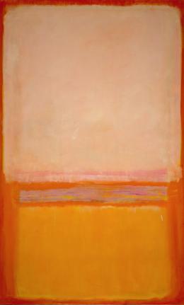 Mark Rothko (1903-1970) Untitled 1950 Öl auf Leinwand, 230,2 × 128,9 cm © 1998 Kate Rothko Prizel & Christopher Rothko/Bildrecht, Wien, 2019