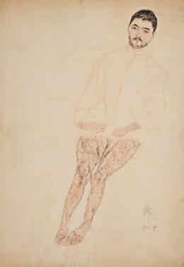 Erwin Dominik Osen, Porträt eines Patienten, 1915 © Leopold Museum, Wien, Foto: Leopold Museum, Wien/Manfred Thumberger
