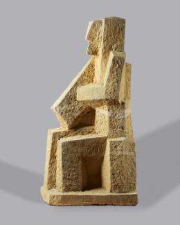 Josef Pillhofer, Assurbanipal, 1990–98 © Privatbesitz Foto: Leopold Museum, Wien/Manfred Thumberger © Bildrecht Wien, 2021