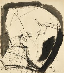 Josef Pillhofer, Kopf, um 1963 © Sammlung Dolezal Foto: Leopold Museum, Wien/Manfred Thumberger © Bildrecht Wien, 2021
