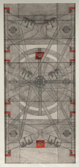 Anton B. (1886–1974)  System oder Schema. Atomkraft, 15. 2. 1956  Sammlung Königsfelden, CH,© PDAG, Windisch