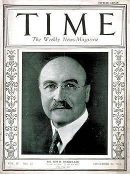 """Leo Hendrik Baekeland, Cover des """"Time Magazine"""", September 1924, Public Domain"""