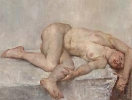 Lovis Corinth, Liegender weiblicher Akt, 1907  © Belvedere, Wien, Foto: Johannes Stoll