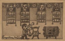 Ruedi F. (1892–1972)  Krankenspital, undatiert  Sammlung Königsfelden, CH, © PDAG, Windisch 6_RuediF_Krankenspital.jpg Zur Auswahl hinzufügen