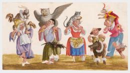 Burnacini, Tierballett, Wien, 17. Jhdt, Theatermuseum © KHM-Museumsverband