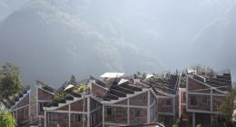 Rural Urban Framework (RUF): Wiederaufbau des Dorfes Jintai, Provinz Sichuan, China, 2017 Rural Urban Framework hat nach schweren Erdbeben und Erdrutschen in der chinesischen Provinz Sichuan in Zusammenarbeit mit der lokalen Regierung in Jintai ein Modellprojekt für eine nachhaltige Dorfentwicklung realisiert.  © Rural Urban Framework (RUF)