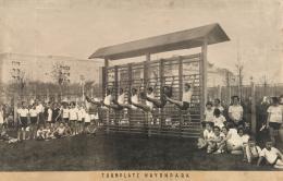 Gaudenzdorfer Gürtel, Turnen im Haydnpark, ca. 1926  Foto: Fritz Sauer © Wien Museum
