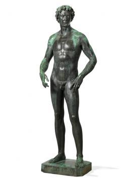 Franz Barwig der Ältere, Jüngling, ca. 1924  Bronze © Wien Museum