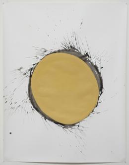 Bruce, 2015, ÖL und Tusche auf Papier, 152 x 118 cm @ Claudio Moser