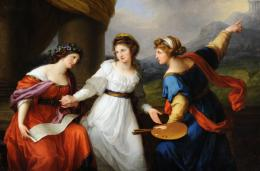 Angelika Kauffmann, Selbstbildnis am Scheideweg zwischen Musik und Malerei, 1794 National Trust Collections (Nostell Priory, The St. Oswald Collection). Purchased by private treaty with the help of a grant from the Heritage Lottery Fund © National Trust Collections Foto: National Trust Images