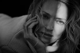 Peter Lindbergh, Uma Thurman, New York, 2016; © Peter Lindbergh (Courtesy Peter Lindbergh, Paris)
