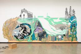 Victoria Lomasko, Under Water, Sketch, 2020, Courtesy die Künstlerin